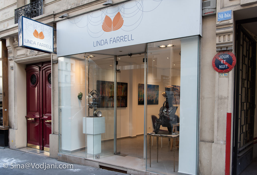 Exhibition Galerie d´Art Linda Farrell  01.- 20. Septembre 2018  31 rue de longchamp 75016 Paris (Trocadero)